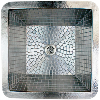 "Mosaic Stainless Steel Bar / Prep Sink 16"" X 16"" x 8"""