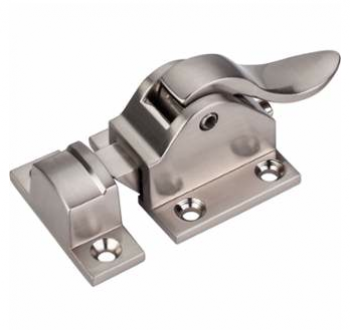 Brushed Satin Nickel 1-15/16 Inch Cabinet Latch from the Transcend Collection